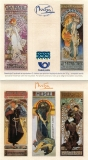   150 Years Alfons Mucha - stamp booklet - E