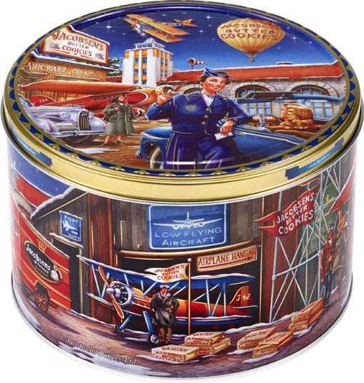   Jacobsen's Bakery Butter Cookies Tins