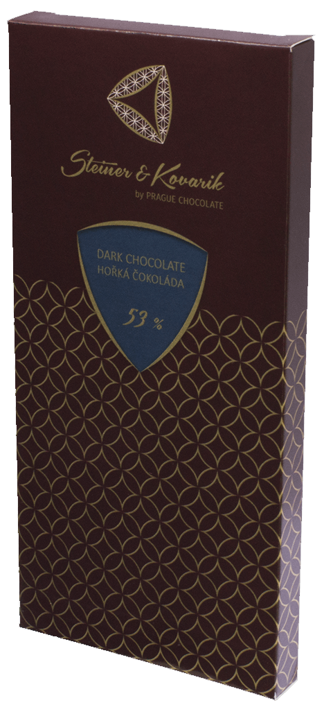 Dark Chocolate Bar 53% - 240g