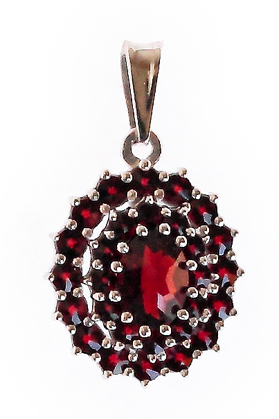 czech garnet jewelry from prague