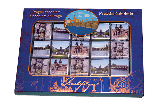   Postcard - Dark Chocolate Miniatures