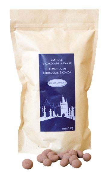 Almonds in Dark Chocolate and Cocoa 1 kg