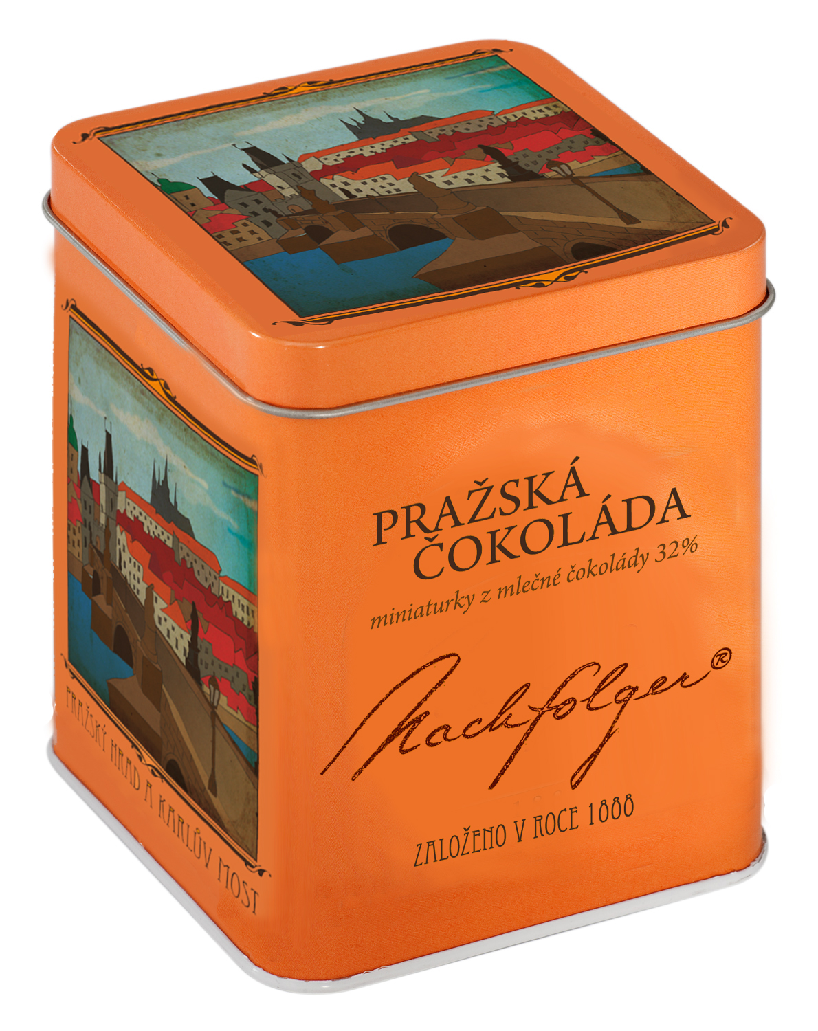 Prague Castle and Charles Bridge, 220 g
