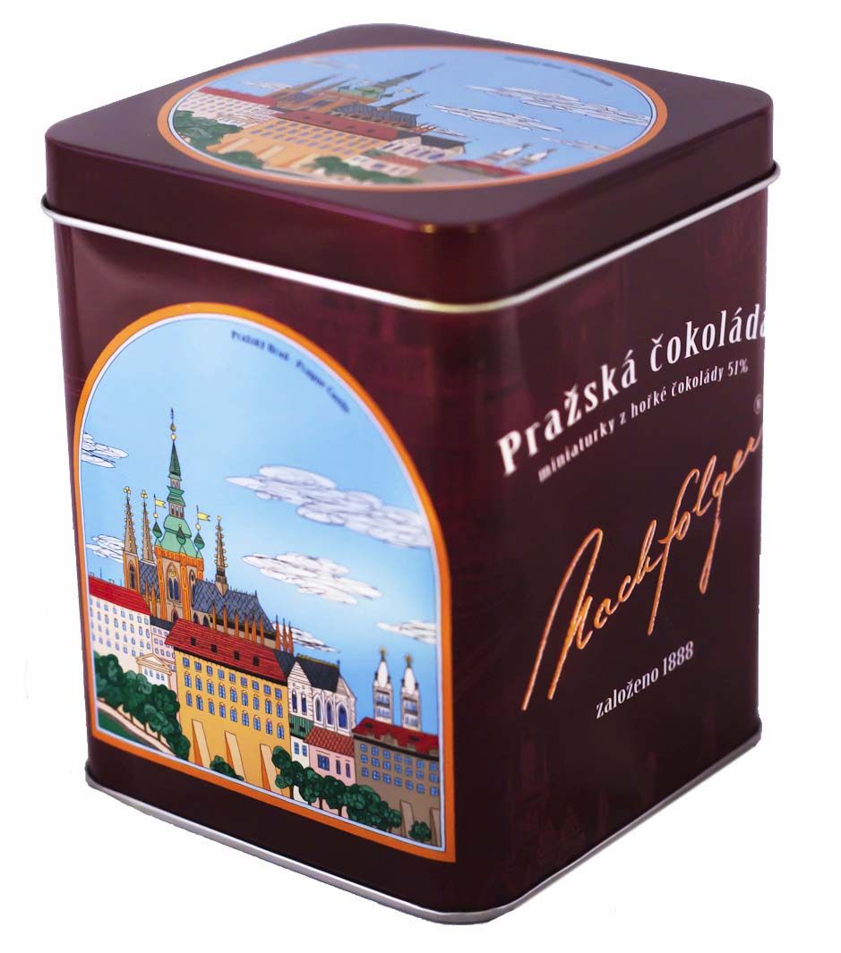 Prague Castle dark chocolate, 220 g