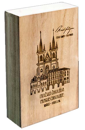   Tyn church wooden box