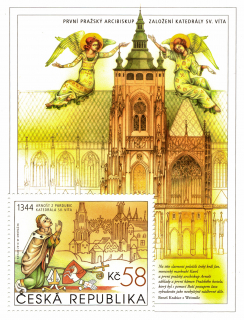   St. Vitus Cathedral - miniature sheet