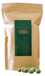 Almonds in Dark Chocolate and Moringa 1 kg